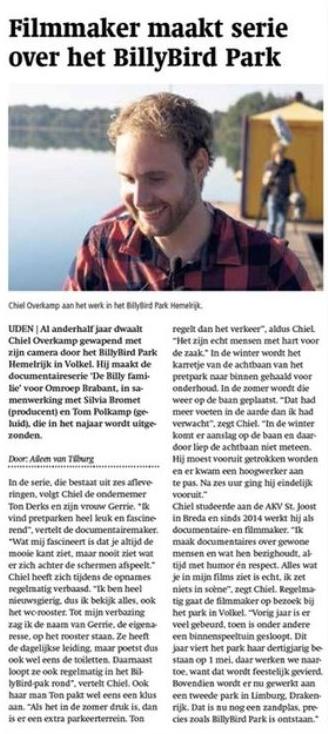 Udens Weekblad - 16 maar 2016 - De Billy familie