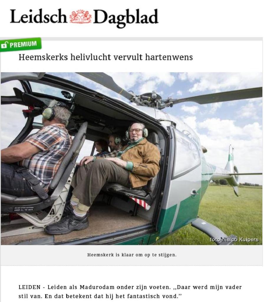 Leidsch Dagblad- 7 augustus 2016 - Actiz
